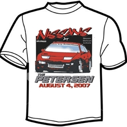 Nissans at the Petersen T-Shirt